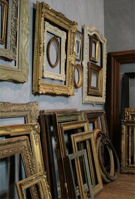 cadres anciens encadrement ancien cadre tableau qui sommes nous. Black Bedroom Furniture Sets. Home Design Ideas