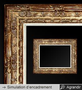 cadres anciens encadrement ancien cadre tableau cadre estampill. Black Bedroom Furniture Sets. Home Design Ideas