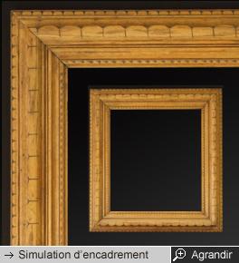 Cadres anciens encadrement ancien cadre tableau cadre bois - Moulure bois pour cadre ...